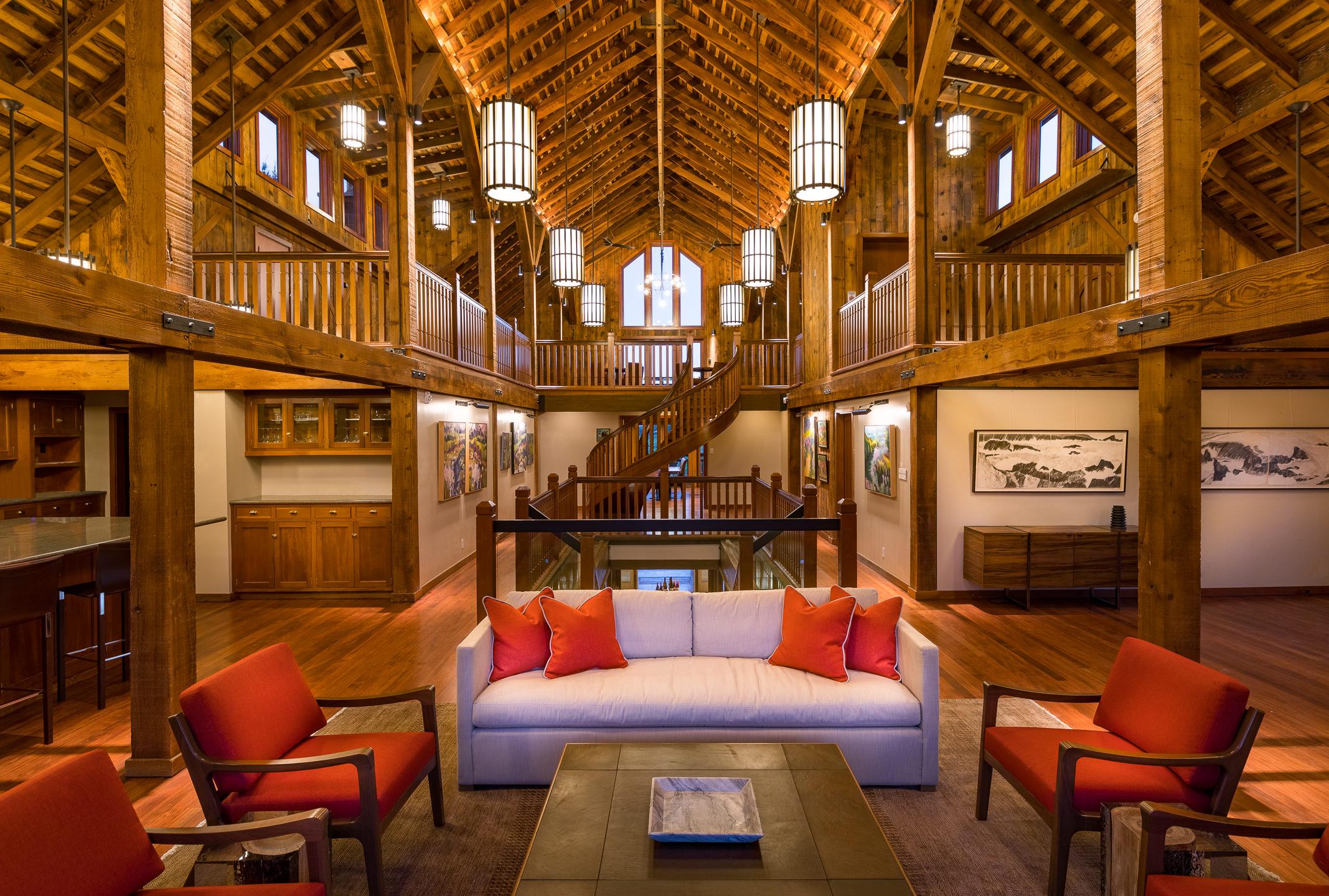 SRP LaCrema Winery Interior Architectural Image 1